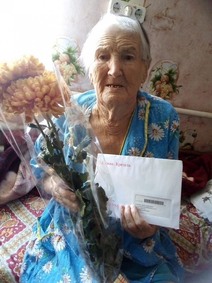 Ветераны ВОВ и труженики тыла Эмма Чмирева и Лидия Якуба отпраздновали 90 день рождения